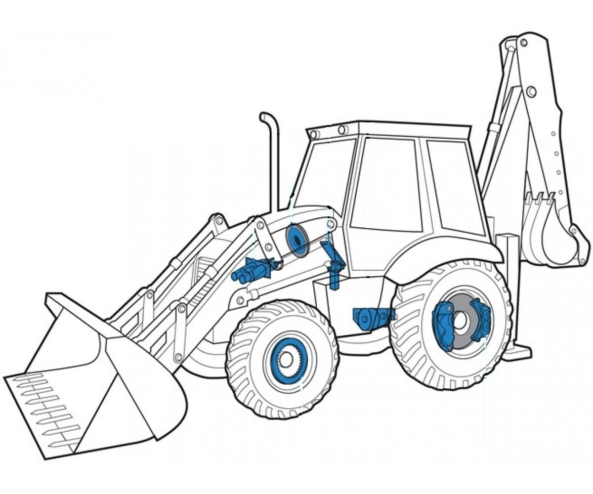 Дорожно-строительная техника и вилочные погрузчики