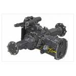 Гидравлический рулевой привод со встроенной конической коробкой